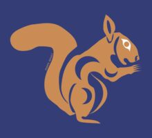 Coast Salish Squirrel by Mark Gauti