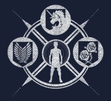 Shingeki no Kyojin: Choose Your Faction by brittanacedes