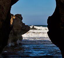 COVE BAY - ROUGH SEA TUNNEL by JASPERIMAGE