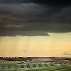 Storm over Therfield by fulhamphil