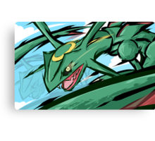 Rayquaza | ExtremeSpeed Canvas Print