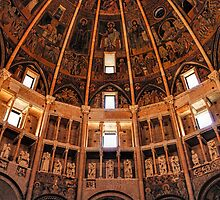 Parma Baptistery by Nigel Fletcher-Jones