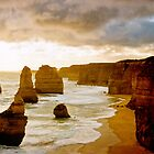 Sunset over the Twelve Apostles by Norman Repacholi