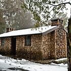 Mount Buffalo Hut by DavidsArt