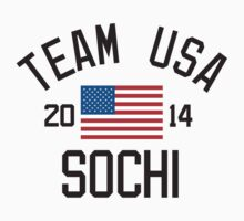 Team USA - Sochi 2014 by monkeybrain