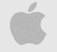 Apple Symbol (Text) by Abdullah Albabtain