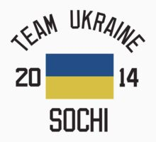 Team Ukraine - Sochi 2014 by monkeybrain