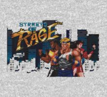 Vintage Video game Streets of Rage by Nasherr