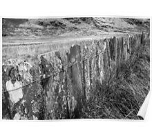 Cwm Orthin Slate Mines Snowdonia Poster