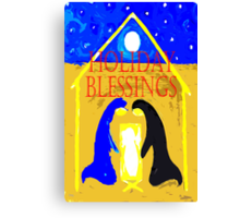HOLIDAY BLESSINGS Canvas Print