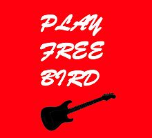 Play Free Bird Phone Case by downwithzyteth