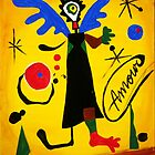 Joan Miro Angel by Augusto Sanchez by angelsinmyheart