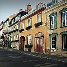 Streets of Quebec by Caroline Fournier