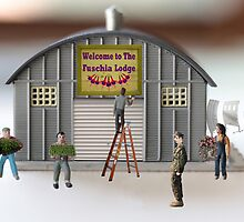 Why do I always get the new recruits?  People..PEOPLE….I said work on a new FUSELAGE!!!!   by Susan Littlefield