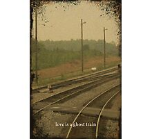 Railroad Track Photographic Print