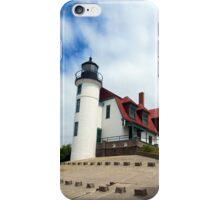 Lake Michigan Light House  iPhone Case/Skin