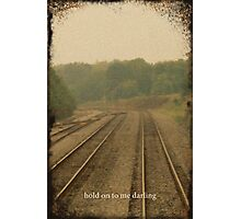 Railroad Track 2 Photographic Print