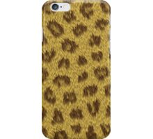 Leopard real skin iPhone Case/Skin