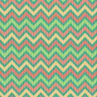 Colorful Pastel Retro Chevron Pattern Texture by artonwear