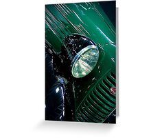 Bantam Green Greeting Card