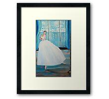 Dancing for Kate Framed Print
