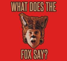 Ylvis - The Fox - What Does The Fox Say? Shirt by xnmex