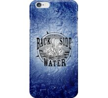 Back Side of Water (Black) iPhone Case/Skin