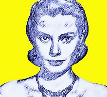 Grace Kelly by Art Cinema Gallery