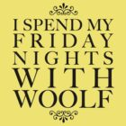 I spend my Friday nights with Woolf by oohlalaprufrock
