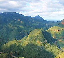 Blyde River Canyon, South Africa by Heidi Hesse