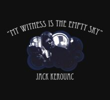 Jack Kerouac T-Shirt by OutlawOutfitter