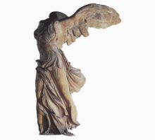 Winged Victory of Samothrace by Kirdinn