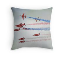 """Too close for comfort"" Throw Pillow"
