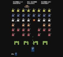 Doctor Who - Space Invaders by innercoma