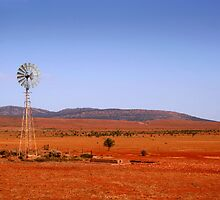 Water vane in the Outback by jwwallace