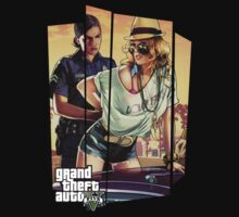 GTA5 - Busted Girl by kazkami