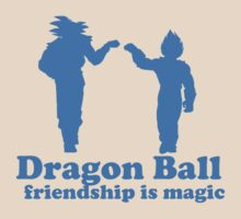 Dragon ball: Friendship is magic blue by Kirdinn