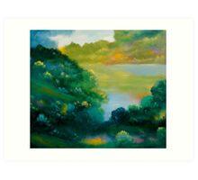 September Woods Art Print