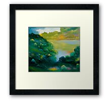 September Woods Framed Print