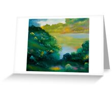 September Woods Greeting Card