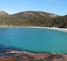 Little Beach Two Peoples Bay Western Australia by lynareid