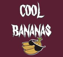 cool bananas t-shirt by ralphyboy