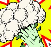 Captain Cauliflower Sticker