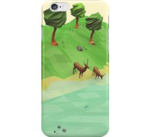 Down River (Low Poly) iPhone Case/Skin