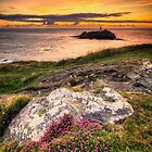 DUSK FALLS OVER GODREVY by PlanetPenwith