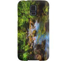 A forest stream. Samsung Galaxy Case/Skin