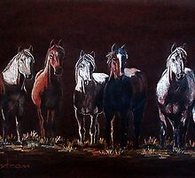 """The Line Up"" by Susan Bergstrom"