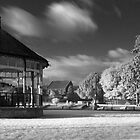 Bandstand in Blake Gardens - Dramatic Infrared by Antony R James