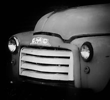 Antique GMC Truck by Nazareth