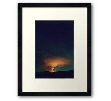 By Fire Light v2 Framed Print